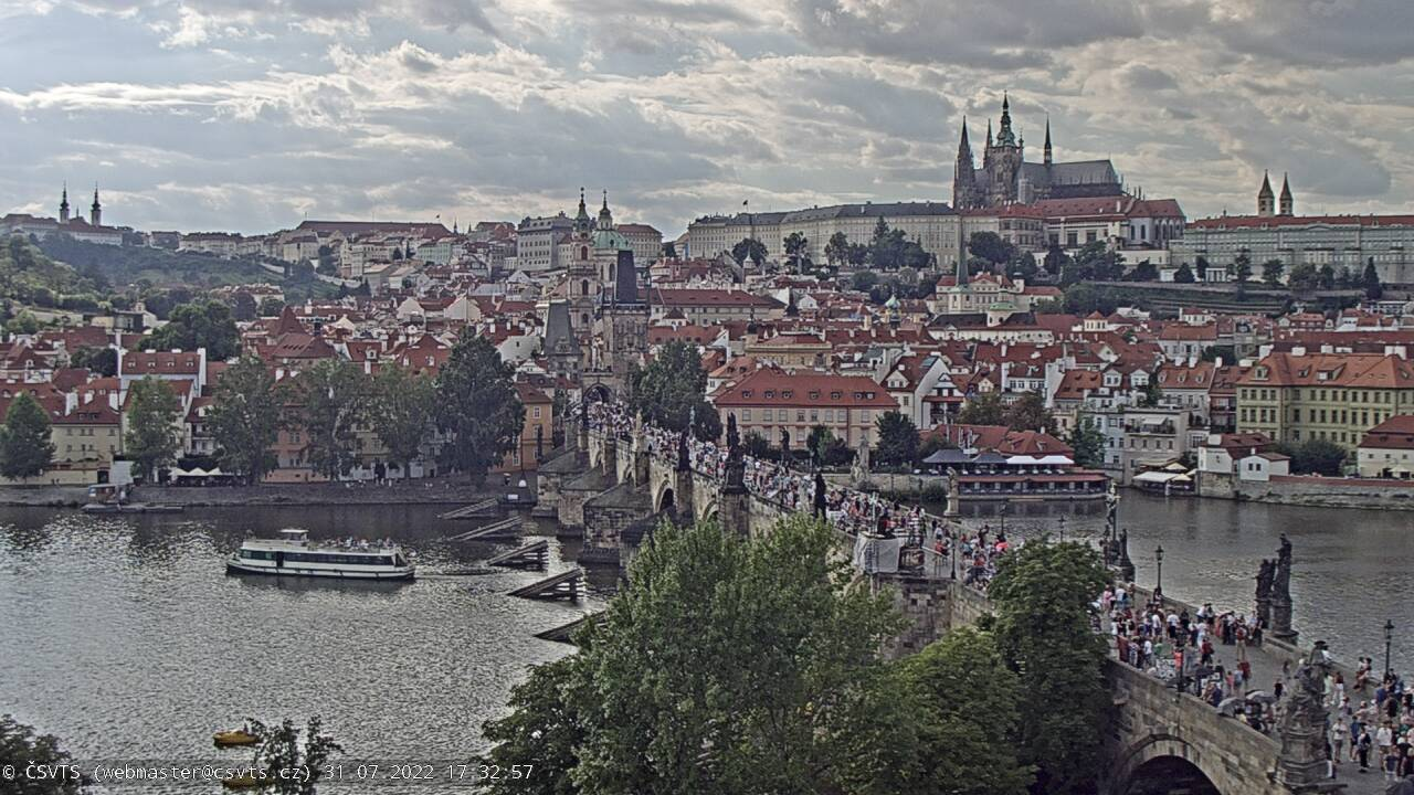 webcam Charles bridge