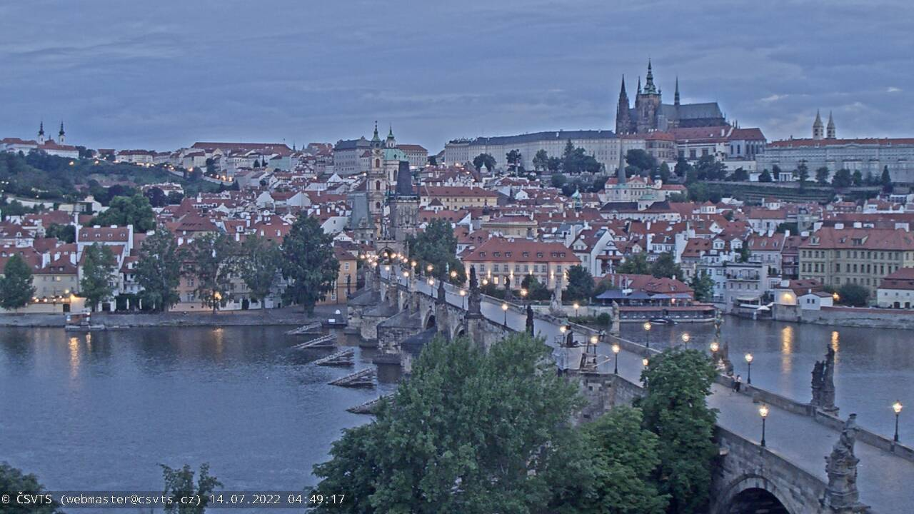 webkamera Praha