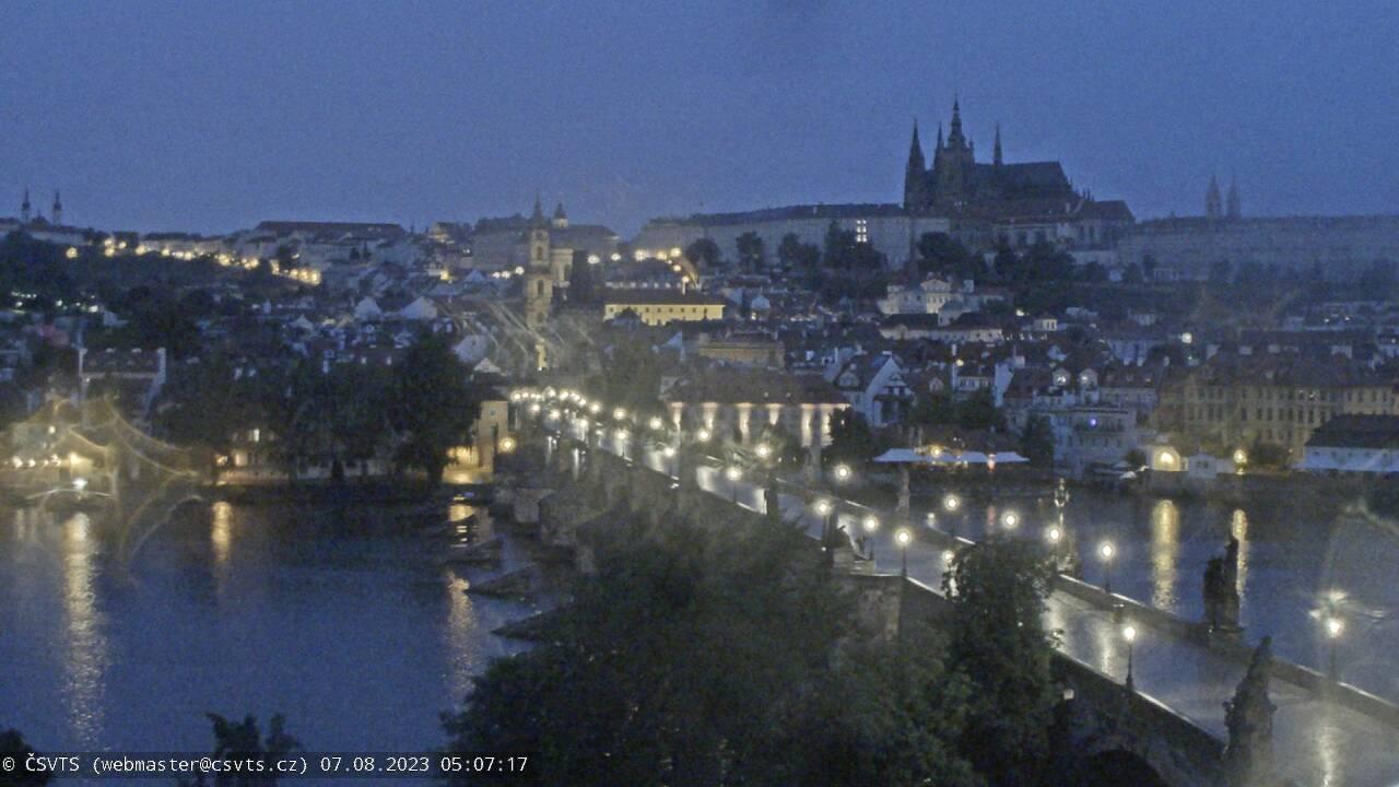 Pragbron live, Gamla stan i Prag